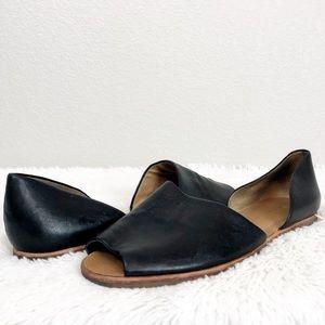 Franco Sarto Cut Out Flat Sandals sz 12